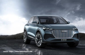 Audi Q4 e-torn concept: Audi shows the fifth model of its e-torn family in Geneva