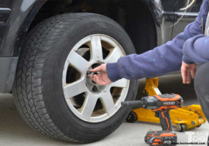Changing a Car Tire