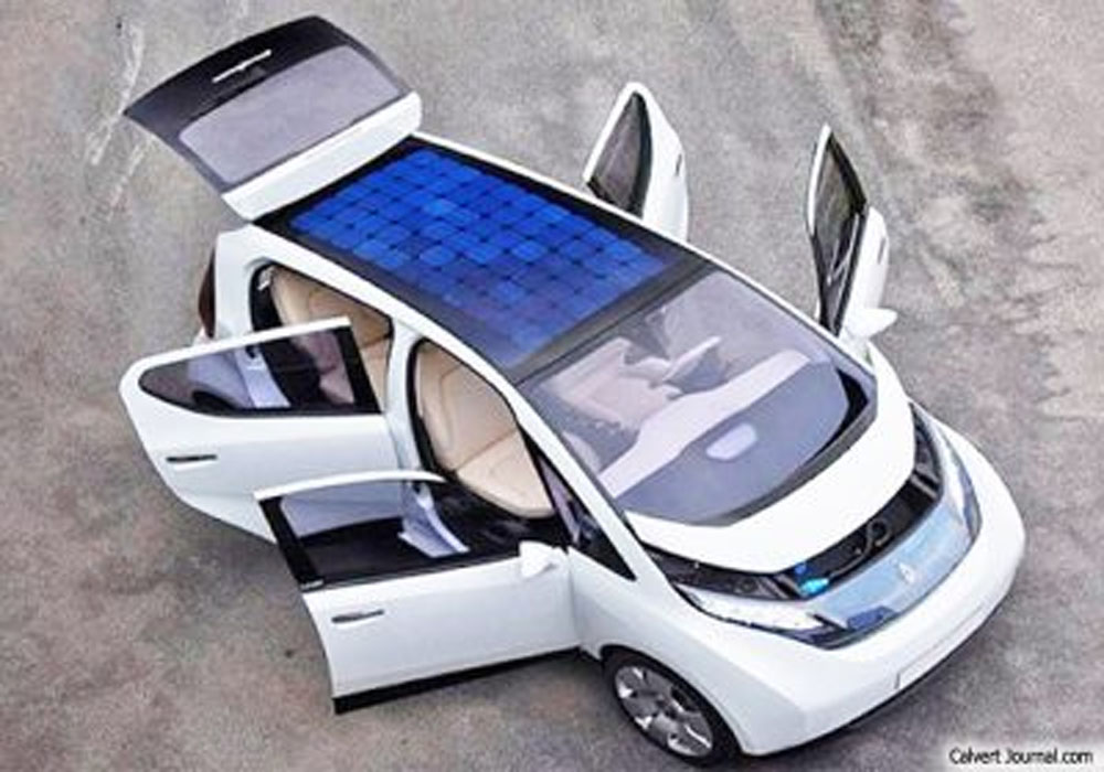 Solar Powered Electric Vehicles