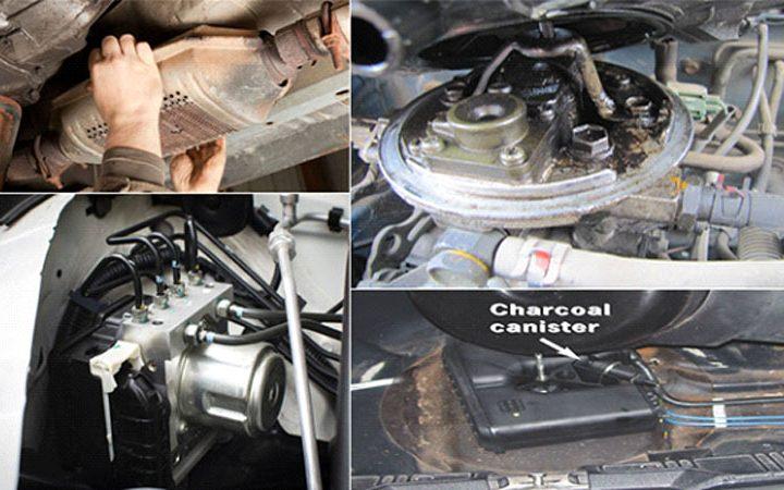 Essential Components That Comprise Your Car's Emission Handle System