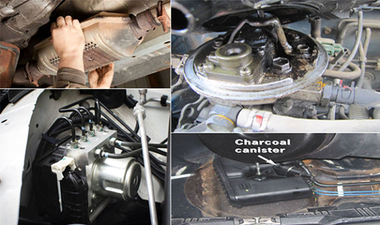 Essential Components That Comprise Your Car's Emission Handle System